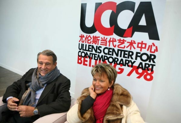 Guy and Myriam Ullens at UCCA