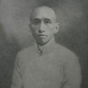 Zhang Huan, 36 Years Old, 2008; Ash on linen, 200×150cm