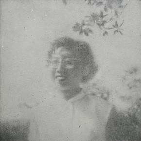 Zhang Huan, My Literary Teacher, 2008; Ash on linen, 150×150cm
