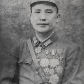 Zhang Huan, Pai Chung-hsi, 2010; Ash on linen, 250×200cm