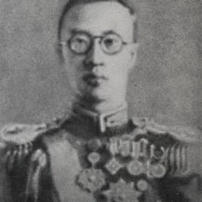 Zhang Huan, Puyi, 2010; Ash on linen, 250×200cm