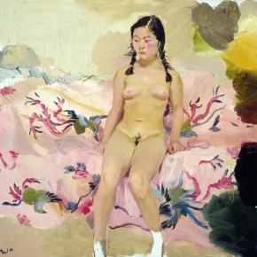 12 Phoenix, 2010; oil on canvas, 140×150cm; Courtesy of Liu Xiaodong Studio