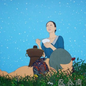 15 Chen Fei, North, 2012; acrylic on linen, 200×180cm