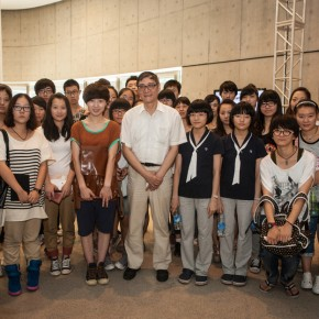 19 the opening ceremony of The First CAFAM• Future Exhibition--Sub-Phenomena Report on the State of Chinese Young Art