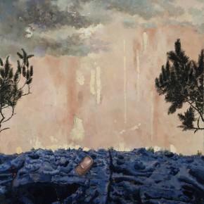 2. Li Dafang-Button,_2012; oil on canvas, 180 x 140 cm