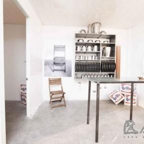 21 Jiao Meng, One Studio; wood, ceramic, steel, fabric, paint, etc.
