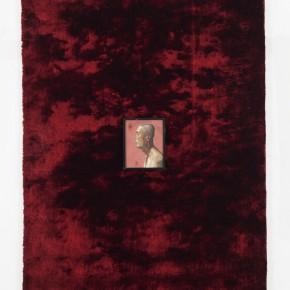 7. Li Dafang, Man'sPortrait, 2012; oil on canvas, carpet, 350 x 250 x 8 cm