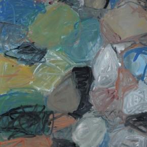 Li Di-Beginning of Spring, 2011; oil on canvas, 150x112cm