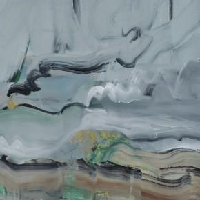 Li Di-Gold Dew(detail), 2011; acrylic on canvas, 150x115cm