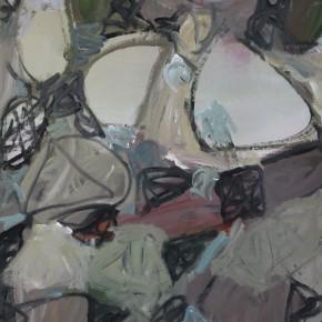 Li Di-Grain in Ear, 2011; oil on canvas, 150x110cm