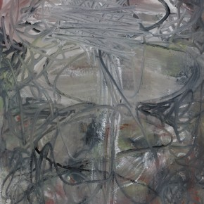 Li Di-Rain Water, 2011; acrylic on canvas, 150x115cm