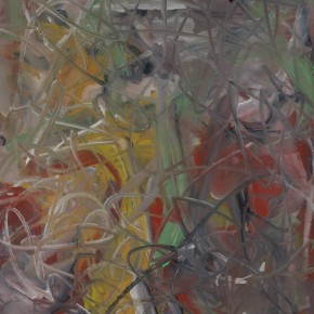 Li Di-The Limit of Heat, 2011; acrylic on canvas, 150x122cm