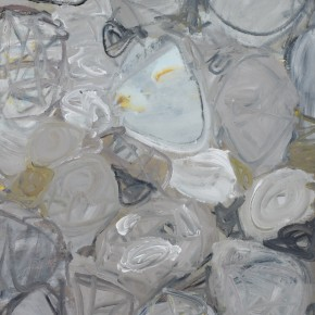 Li Di-White Dew, 2011; acrylic on canvas, 150x112cm