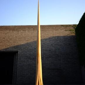 Song Jianshu-The Last, 2010; abies, 560×110×80cm