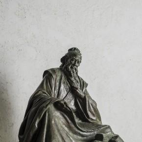 Zhang Dehua-Lao Zi, 2003; copper, 120×100×70cm