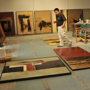00 Cheng Xiangjun at his studio