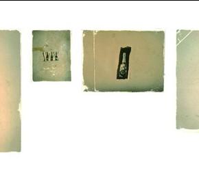 01 Guo Peng-Dust, Bottle, 2011; photography, 8×10.5cm, 9×12cm, 3.5×5cm,6×8cm, 10×13cm, 4.5×6cm