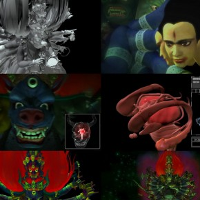 04 Lu Yang The Anatomy of Rage, 2011; 3D animation, 14'47''