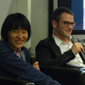 09 Artist Kan Xuan and Philip Tinari, The Director of UCCA; Photo by Starcy from Listen to the World