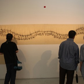 11 Exhibition View of The Male, The Female, The Sacred Omar Galliani in Dialogue with the Drawing Tradition