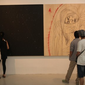 13 Exhibition View of The Male, The Female, The Sacred Omar Galliani in Dialogue with the Drawing Tradition