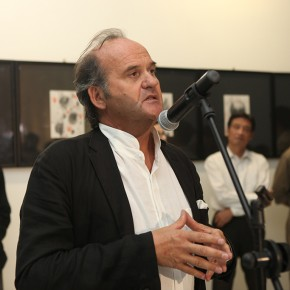 21 Opening Ceremony of The Male, The Female, The Sacred Omar Galliani in Dialogue with the Drawing Tradition