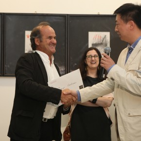 23 Opening Ceremony of The Male, The Female, The Sacred Omar Galliani in Dialogue with the Drawing Tradition