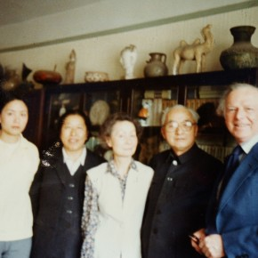 31 Mr. and Mrs Sullivan with the Family of Wang Chaowen in 1989