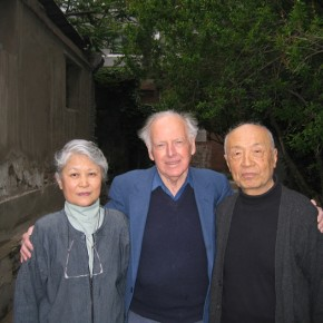 33 Mr. Sullivan with the Couple of Lin Gang and Pang Dao in May, 2004