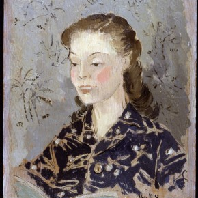 35 Portrait of Madam Wu Huan by Pang Xunqin in 1945 or 1946 Mr. Sullivan's Collection