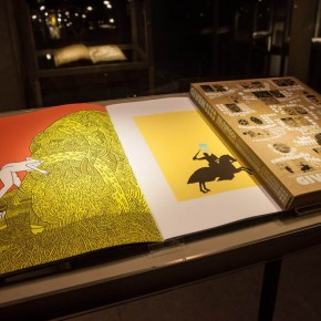 "81 Exhibition View of ""Diamond Leaves: Brilliant Artist Books from around the World"""