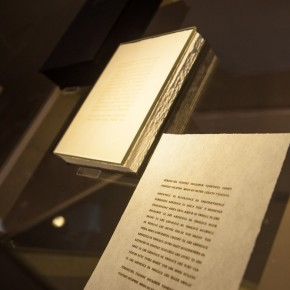 "91 Exhibition View of ""Diamond Leaves: Brilliant Artist Books from around the World"""