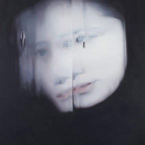 Cai Congyi-Insomnia, 2012; oil on canvas, 997x110cm