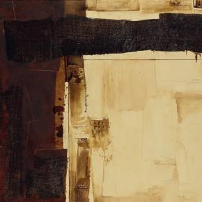 Cheng Xiangjun, Source, 2007; lacquer painting, 90x140cm