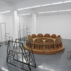 Exhibition View 13 of Liu Wei Solo Show at Long March Space
