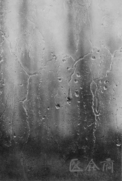 Guo Tianyi-Rain, 2012; Sketch, 100cm×80cm