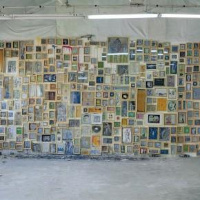 """Ouyang Chun, """"Luminescence"""", 1998-2006; Mixed media,painting, Dimensions Variable"""
