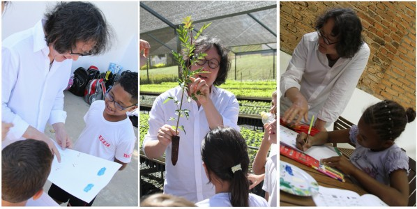 Xu Bing worked with children in Itu to save Brazil's forests 02