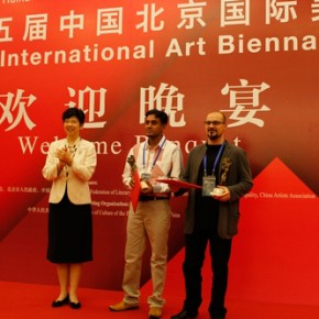 04 Zhao Shi awarded the prizes of Best Award to artists.
