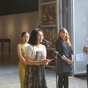 07 Luan Qian, Director of OCAT, spoke at the opening ceremony of After History Alexandre Kojève as a Photographer