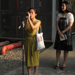 10 Carol Yinghua Lu spoke at the opening ceremony of After History Alexandre Kojève as a Photographer 02