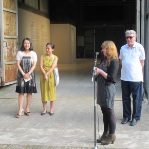 11 Gwen Parry spoke at the opening ceremony of After History Alexandre Kojève as a Photographer.