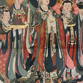 37 Detail of Indra Brahma Chart, Trayastrimśa