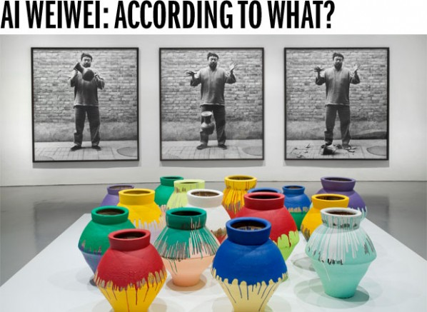 Ai Weiwei: According to What? demonstrates Ai Weiwei's broad artistic practice at the Hirshhorn Museum and Sculpture Garden, Washington, DC