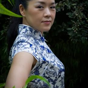 Cui Xiuwen at Her Studio on July 9, 2012-2; Photo by Hu Zhiheng/CAFA ART INFO
