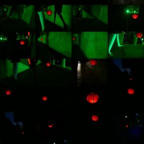 Cui Xiuwen's work, Drifting Lantern, 2005; video