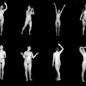 Cui Xiuwen's work, Spiritual Realm(Female), 2010; 22', video