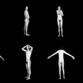 Cui Xiuwen's work, Spiritual Realm(Male), 2010; 22', video