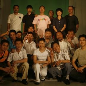 Cui Xiuwen's working photo, Spiritual Realm, 2010
