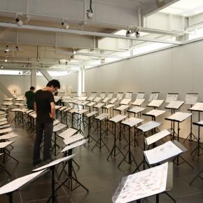 Exhibition View of Kang Jianfei's Solo Show in Beijing 01; Photo by Song Manqing